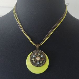 3/$40 Lia Sophia Genuine River Shell Necklace